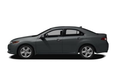 90 Degree Profile 2009 Acura TSX