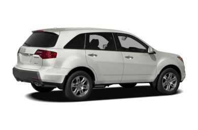 3/4 Rear Glamour  2009 Acura MDX