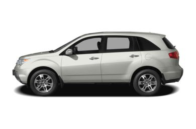 90 Degree Profile 2009 Acura MDX
