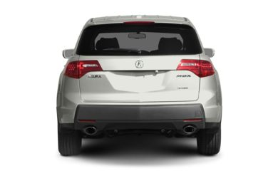 Rear Profile  2009 Acura MDX