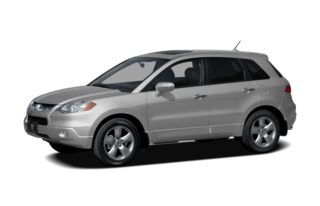 3/4 Front Glamour 2009 Acura RDX