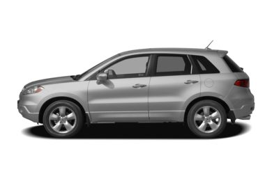 90 Degree Profile 2009 Acura RDX
