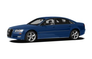 3/4 Front Glamour 2009 Audi A8