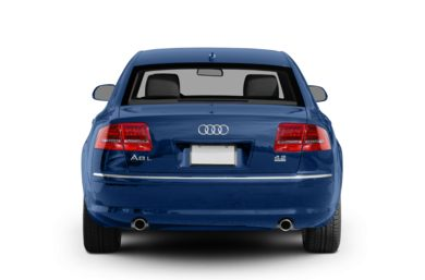 Rear Profile  2009 Audi A8