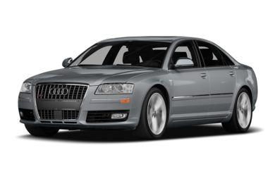 3/4 Front Glamour 2009 Audi S8