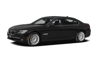3/4 Front Glamour 2009 BMW 750