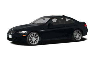 3/4 Front Glamour 2009 BMW M3