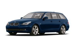 3/4 Front Glamour 2009 BMW 535