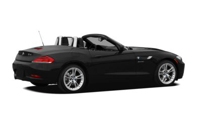 3/4 Rear Glamour  2009 BMW Z4