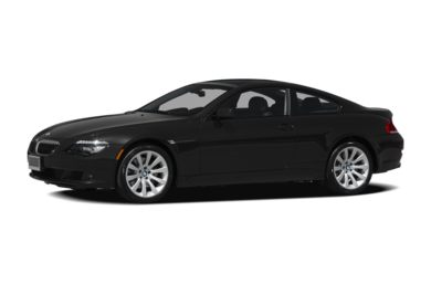 3/4 Front Glamour 2009 BMW 650