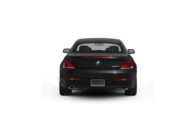 Surround Rear Profile 2009 BMW 650