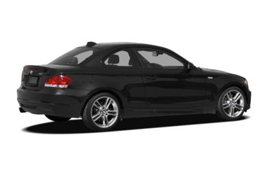 3/4 Rear Glamour  2009 BMW 135