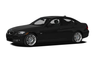 3/4 Front Glamour 2009 BMW 335d
