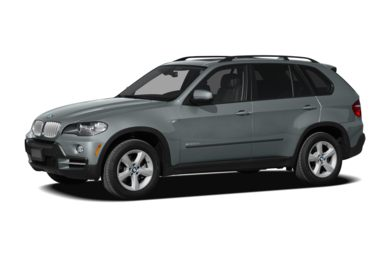 3/4 Front Glamour 2009 BMW X5