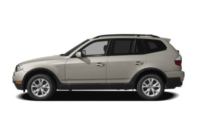 90 Degree Profile 2009 BMW X3