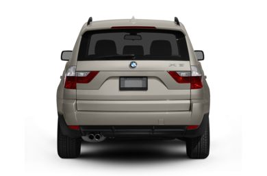 Rear Profile  2009 BMW X3