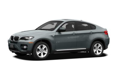 3/4 Front Glamour 2009 BMW X6