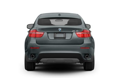 Rear Profile  2009 BMW X6