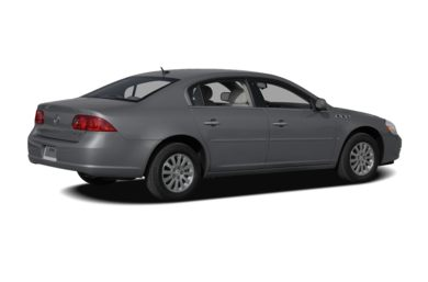 3/4 Rear Glamour  2009 Buick Lucerne