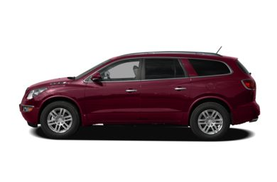 90 Degree Profile 2009 Buick Enclave