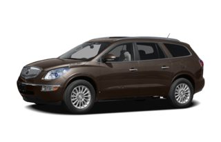 3/4 Front Glamour 2009 Buick Enclave