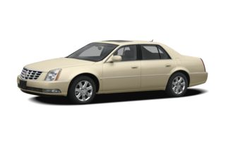 3/4 Front Glamour 2009 Cadillac DTS