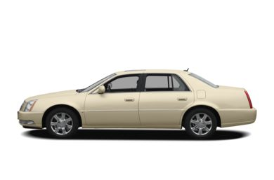 90 Degree Profile 2009 Cadillac DTS