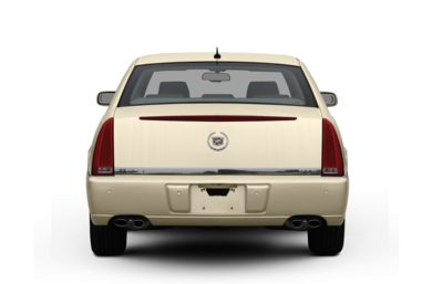 Rear Profile  2009 Cadillac DTS