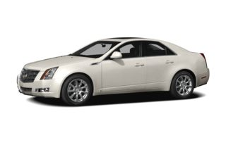 3/4 Front Glamour 2009 Cadillac CTS