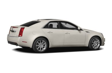 3/4 Rear Glamour  2009 Cadillac CTS