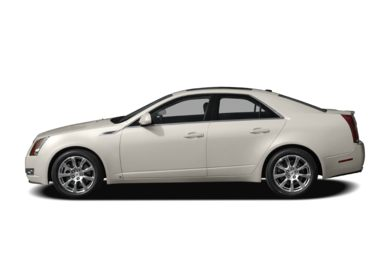 90 Degree Profile 2009 Cadillac CTS