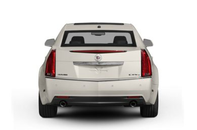 Rear Profile  2009 Cadillac CTS