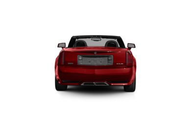 Surround Rear Profile 2009 Cadillac XLR