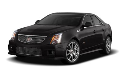3/4 Front Glamour 2009 Cadillac CTS-V