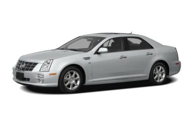 3/4 Front Glamour 2009 Cadillac STS