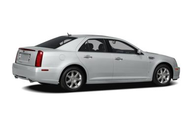 3/4 Rear Glamour  2009 Cadillac STS