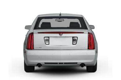 Rear Profile  2009 Cadillac STS