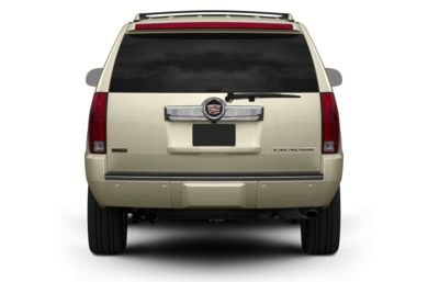 Rear Profile  2009 Cadillac Escalade