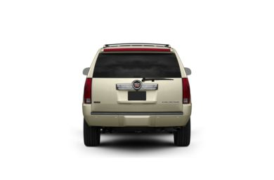 Surround Rear Profile 2009 Cadillac Escalade