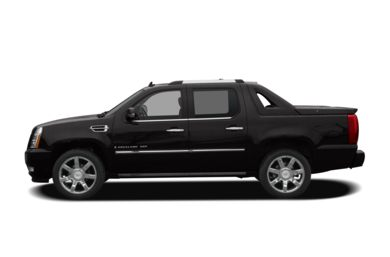 90 Degree Profile 2009 Cadillac Escalade EXT