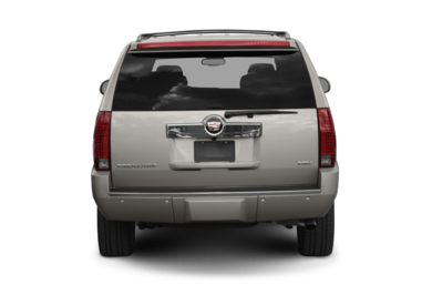 Rear Profile  2009 Cadillac Escalade ESV