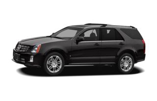 3/4 Front Glamour 2009 Cadillac SRX