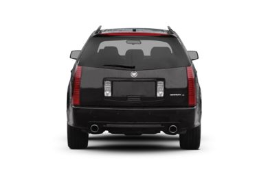 Rear Profile  2009 Cadillac SRX
