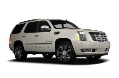 3/4 Front Glamour 2009 Cadillac Escalade Hybrid