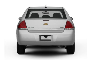 Rear Profile  2009 Chevrolet Impala