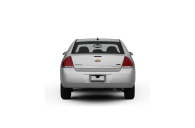Surround Rear Profile 2009 Chevrolet Impala