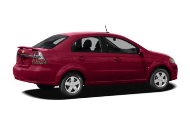 3/4 Rear Glamour  2009 Chevrolet Aveo