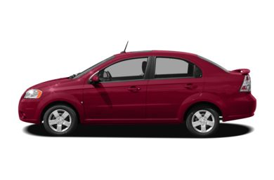 90 Degree Profile 2009 Chevrolet Aveo