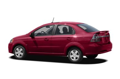 Surround 3/4 Rear - Drivers Side  2009 Chevrolet Aveo