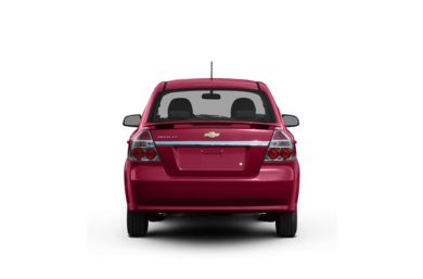 Surround Rear Profile 2009 Chevrolet Aveo